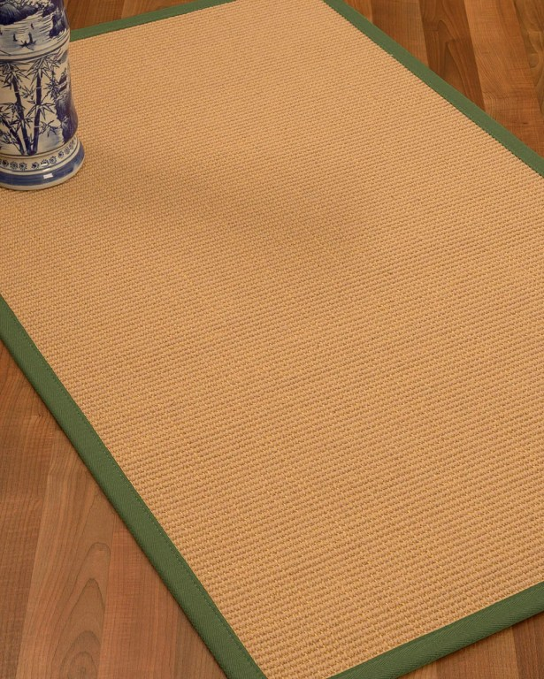Lafayette Border Hand-Woven Wool Beige/Green Area Rug Rug Size: Rectangle 9' x 12', Rug Pad Included: Yes