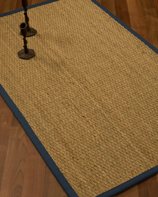 Vanmatre Border Hand-Woven Beige/Black Area Rug Rug Size: Rectangle 6' x 9', Rug Pad Included: Yes