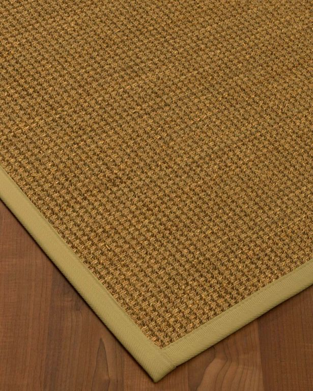 Chavez Border Hand-Woven Beige/Sand Area Rug Rug Pad Included: No, Rug Size: Runner 2'6