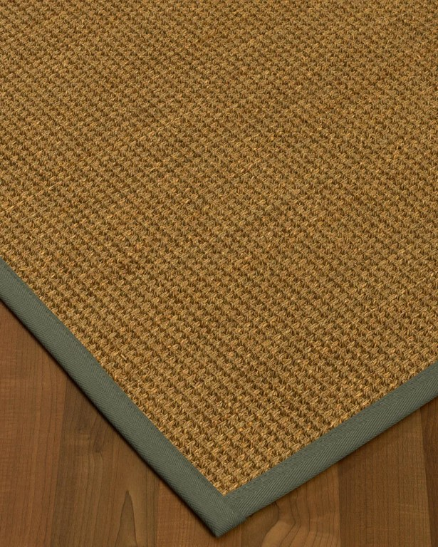 Chavez Border Hand-Woven Beige/Stone Area Rug Rug Size: Rectangle 5' x 8', Rug Pad Included: Yes