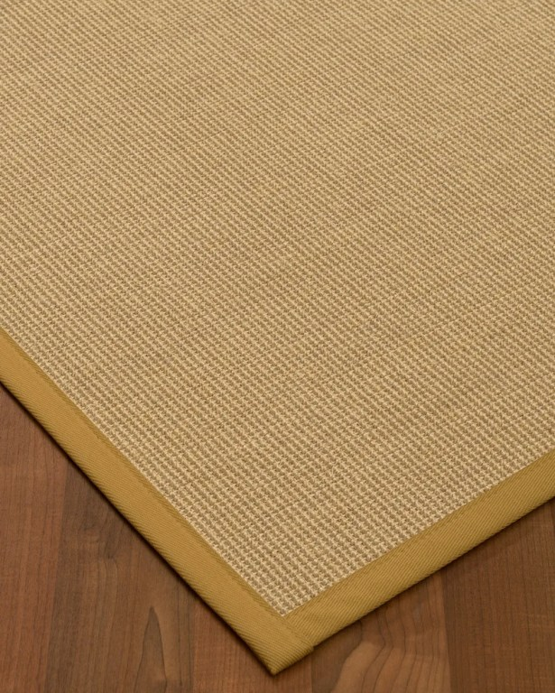 Atwell Border Hand-Woven Gray/Sage Area Rug Rug Size: Rectangle 4' x 6', Rug Pad Included: Yes