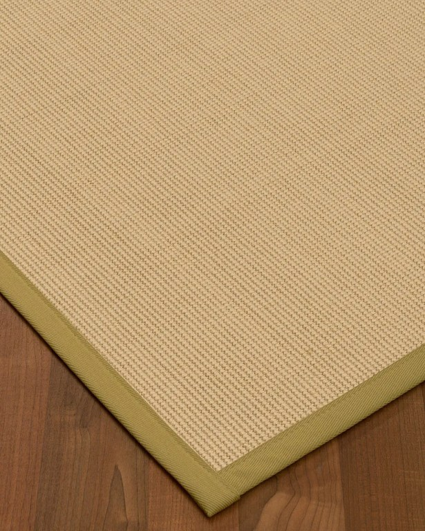 Vannatta Border Hand-Woven Wool Beige Area Rug Rug Size: Rectangle 12' x 15', Rug Pad Included: Yes
