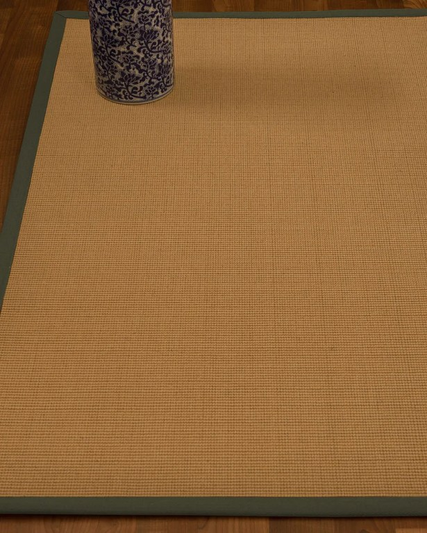 Magruder Border Hand-Woven Wool Beige/Fossil Area Rug Rug Size: Rectangle 6' x 9', Rug Pad Included: Yes