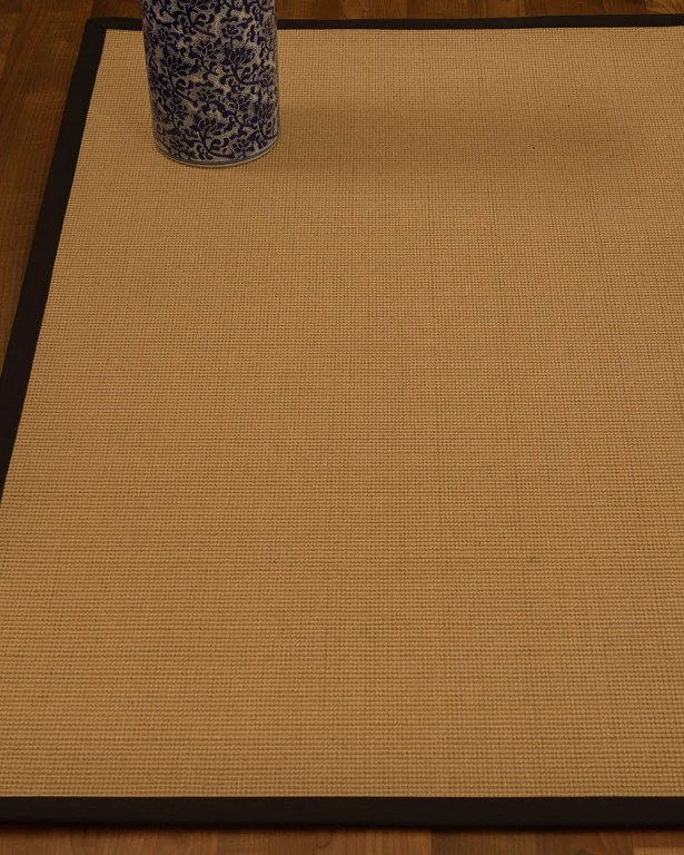 Magruder Border Hand-Woven Wool Beige/Fudge Area Rug Rug Size: Rectangle 12' x 15', Rug Pad Included: Yes