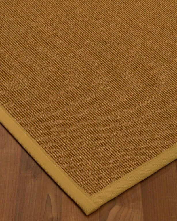 Antonina Border Hand-Woven Brown/Sage Area Rug Rug Pad Included: No, Rug Size: Rectangle 3' x 5'