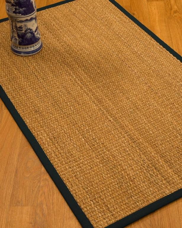 Kimberwood Border Hand-Woven Brown/Onyx Area Rug Rug Size: Rectangle 4' x 6', Rug Pad Included: Yes