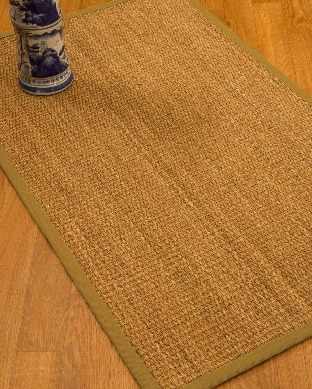 Kimberwood Border Hand-Woven Brown/Sage Area Rug Rug Size: Rectangle 5' x 8', Rug Pad Included: Yes