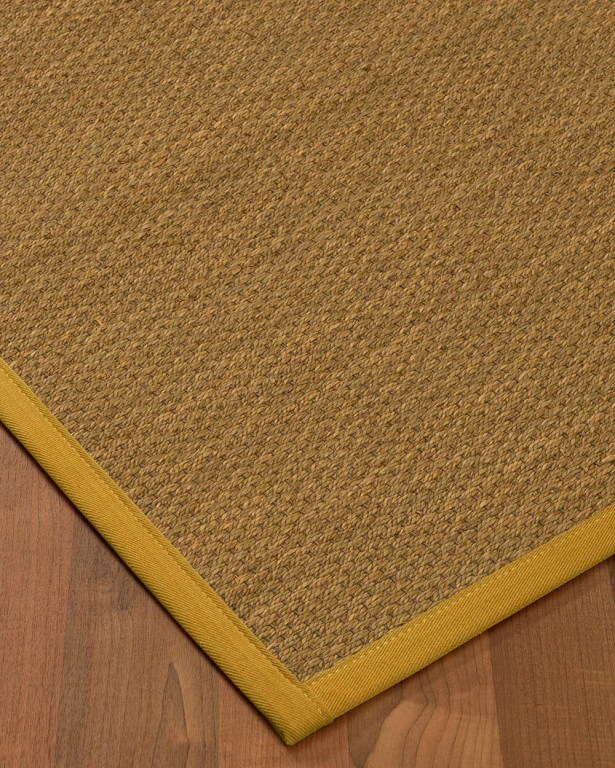 Chavis Border Hand-Woven Beige/Tan Area Rug Rug Pad Included: No, Rug Size: Rectangle 3' x 5'