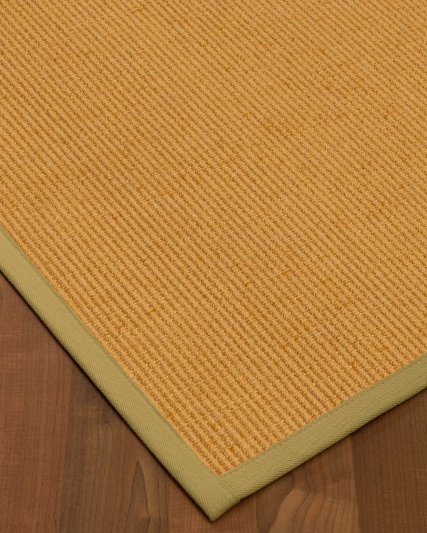 Vannatter Border Hand-Woven Beige/Green Area Rug Rug Pad Included: No, Rug Size: Rectangle 3' x 5'