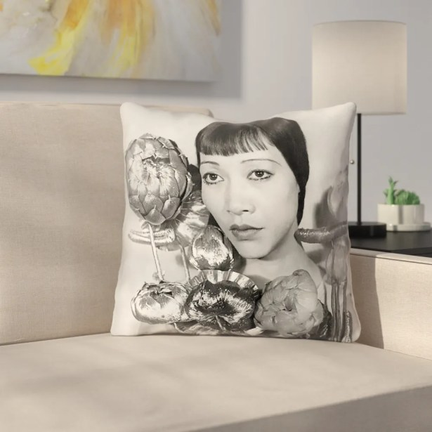 Double Sided Print Pillow Cover Size: 26