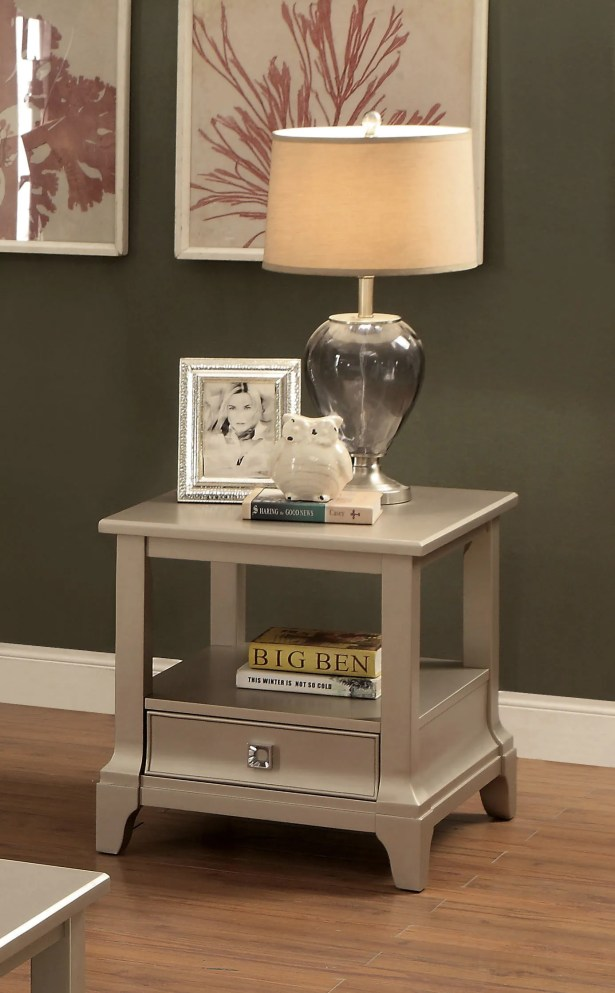Mcelfresh End Table with Storage