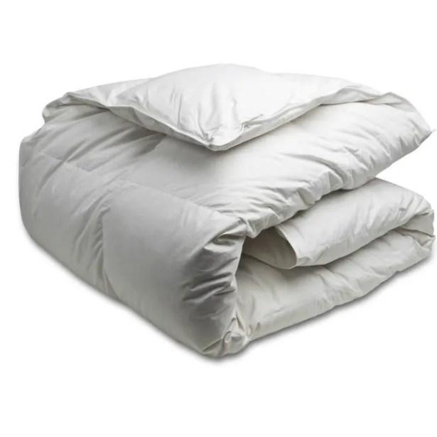 White Down Duvet Size: Double, Fill Warmth: Medium
