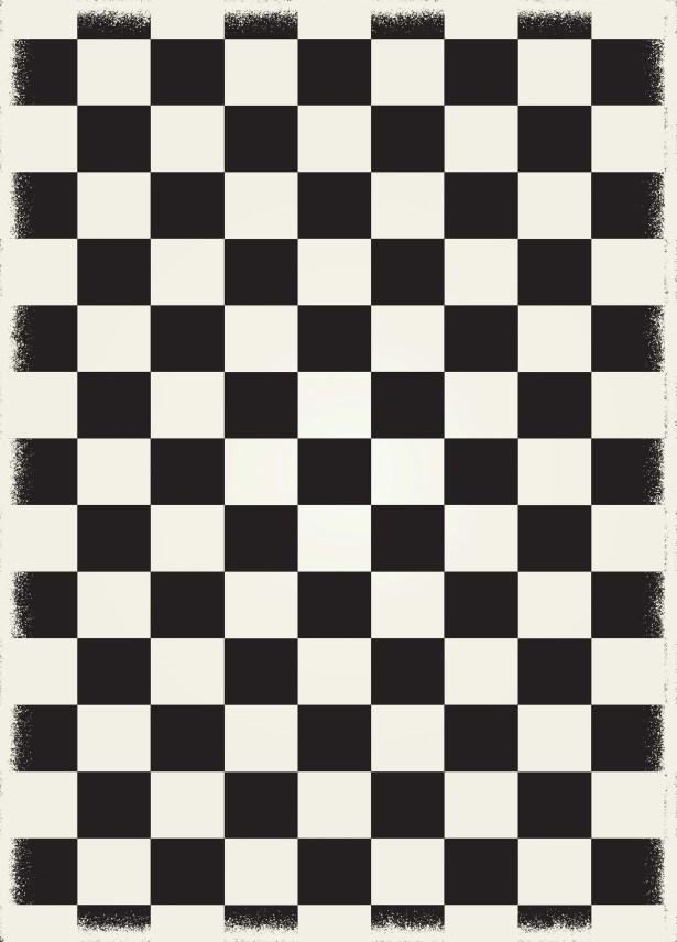 Wendling Black/White Indoor/Outdoor Area Rug Rug Size: Rectangle 5' x 7'