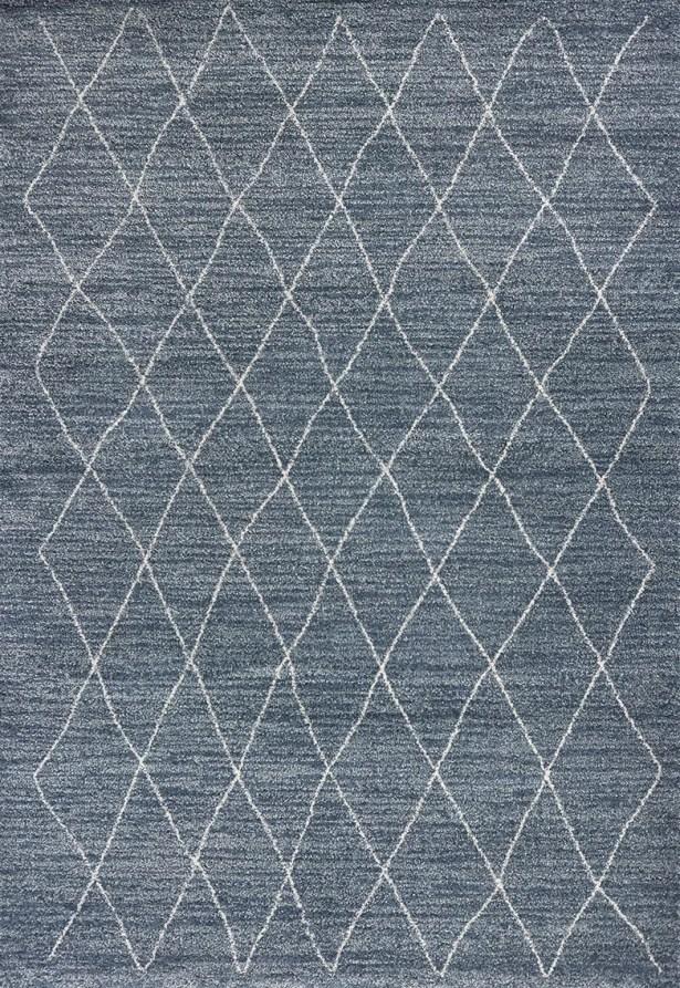 Asbury Blue Area Rug Rug Size: Rectangle 5'3