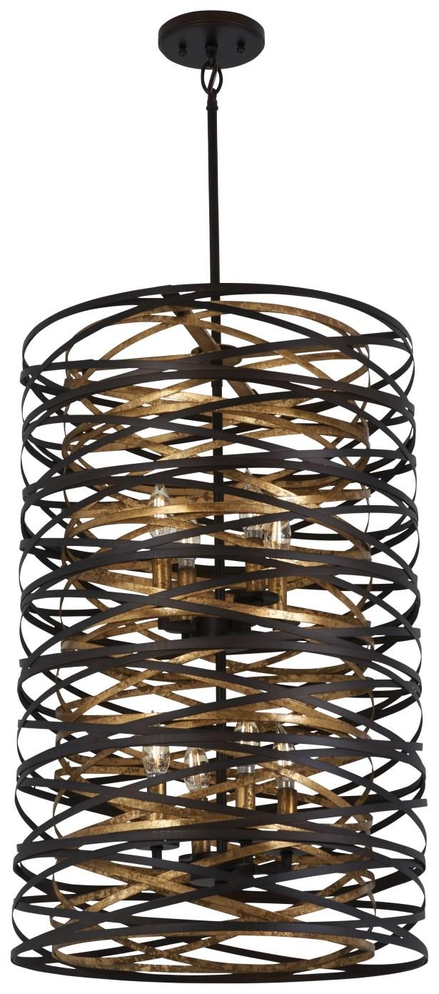 Harnett 8-Light Cylinder Pendant