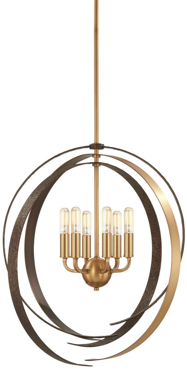 Philomena 6-Light Globe Chandelier Size: 25.75