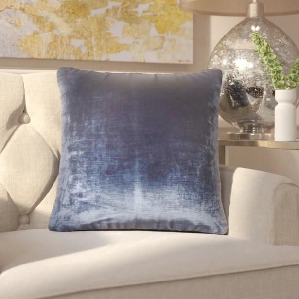 Ryann Solid Cotton Throw Pillow