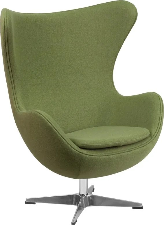 Wheatley Lounge Chair Seat Color: Green