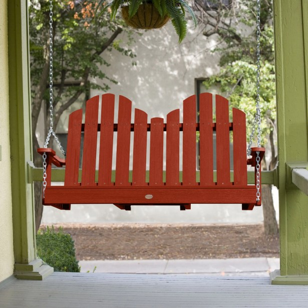 Bettrys Porch Swing Finish: Rustic Red