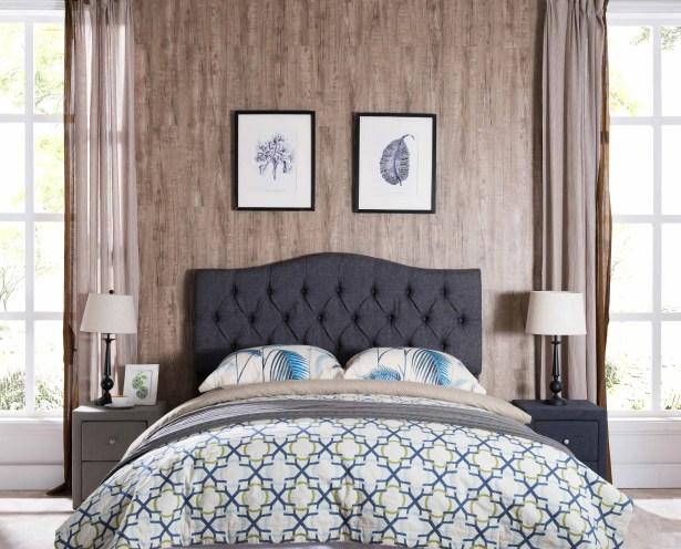 Frausto Upholstered Panel Headboard Upholstery: Gray