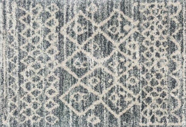 Palmquist Graphite/Beige Area Rug Rug Size: Rectangle 2'3