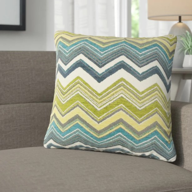 Lesly Zigzag Throw Pillow