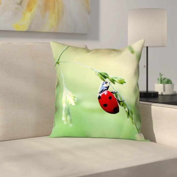 Duriel Double Sided Print Square Pillow Cover Size: 20