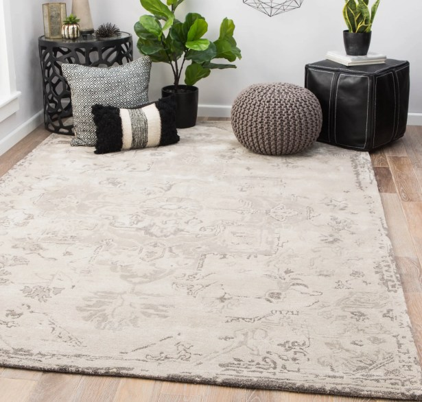 Patchell Hand-Tufted Pumice Stone/Steeple Gray Area Rug Rug Size: Rectangle 5' x 8'