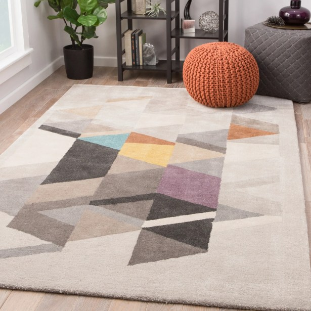 Cephas Hand-Woven Tidal Foam/Bran Area Rug Rug Size: Rectangle 2' x 3'