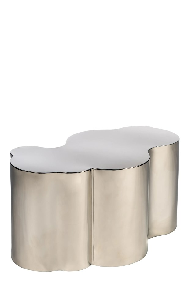 Kate Coffee Table Color: Silver