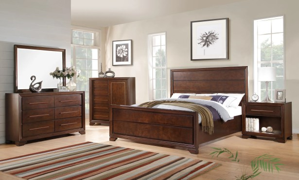 Catania Panel Bed Size: King