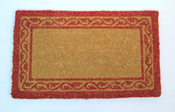 Celeste Border Doormat Mat Size: Rectangle 2'6