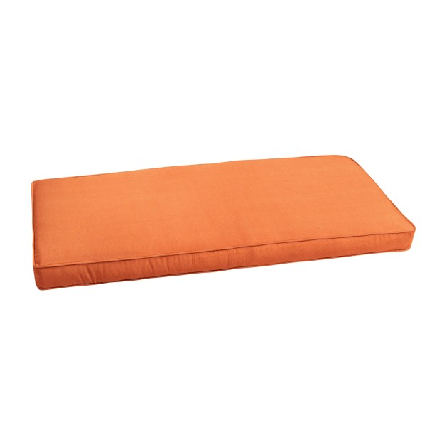 Outdoor Sunbrella Bench Cushion Size: 56