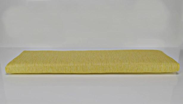 Outdoor Sunbrella Bench Cushion Fabric: Prisma Sunshine