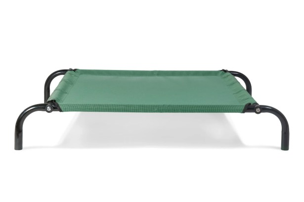 Elevated Reinforced Dog Cot Size: Extra Small (22.25