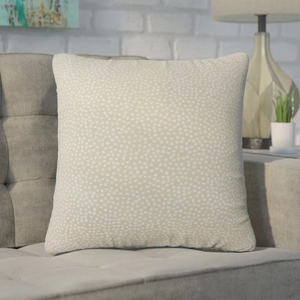 Wilbanks Down Filled Throw Pillow Size: 20