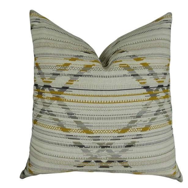 Ladner Aztec Pattern Pillow Size: 12