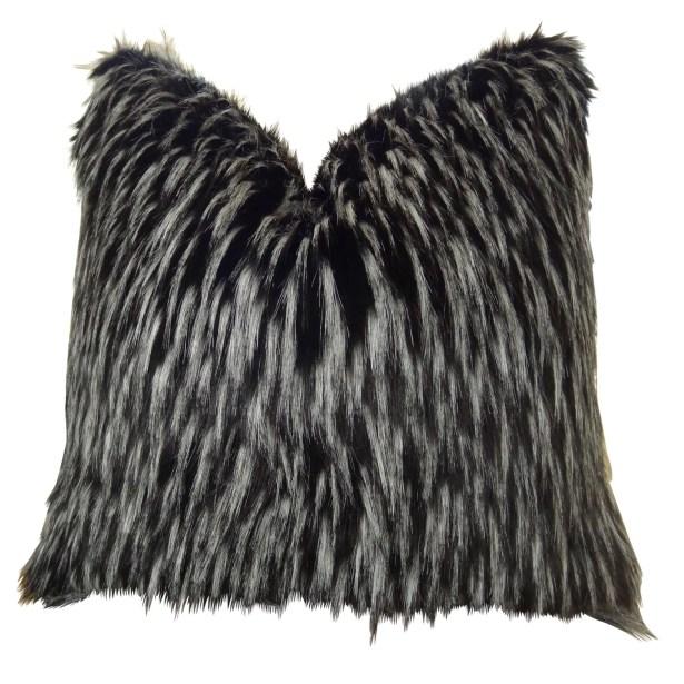 Josue Faux Fur Pillow Fill Material: H-allrgnc Polyfill, Size: 16