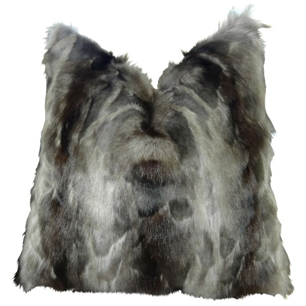 Wagenen Fox Faux Fur Pillow Fill Material: Cover Only - No Insert, Size: 20