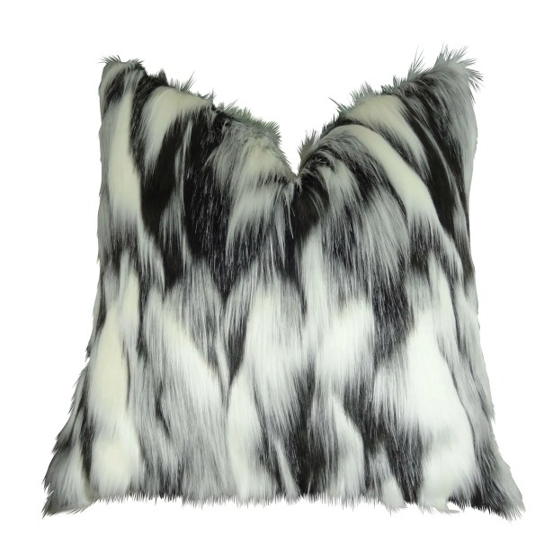 Juan Fox Faux Fur Pillow Fill Material: 95/5 Feather/Down, Size: 20