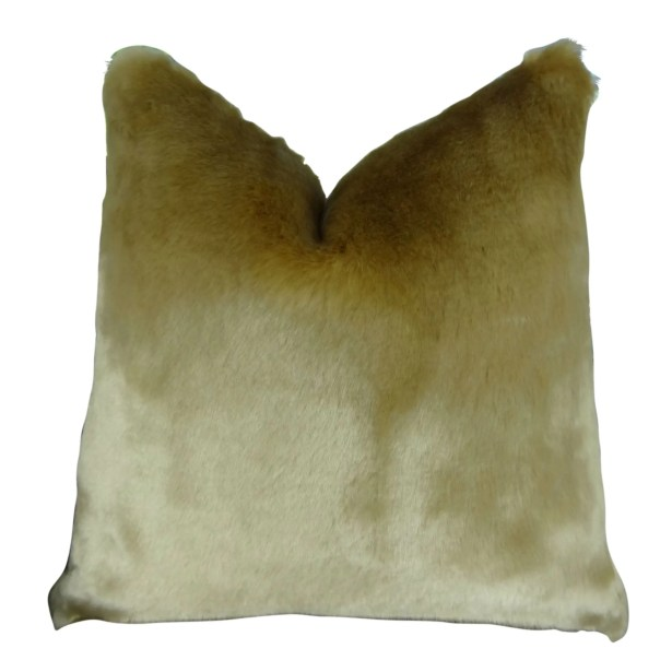 Juarez Luxury Tissavel Faux Fur Pillow Fill Material: H-allrgnc Polyfill, Size: 22