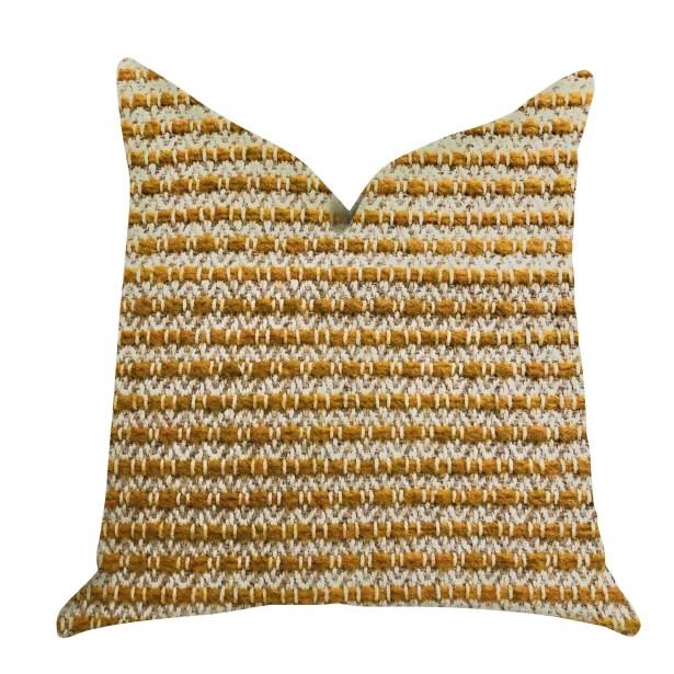 Redrick Braid Tones Luxury Pillow Size: 12