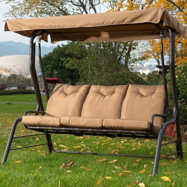 Kirkham Glider Porch Swing with Stand