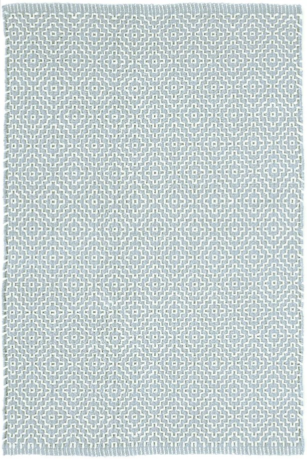 Beatrice Hand-Woven Cotton Blue Area Rug Rug Size: Runner 2'6