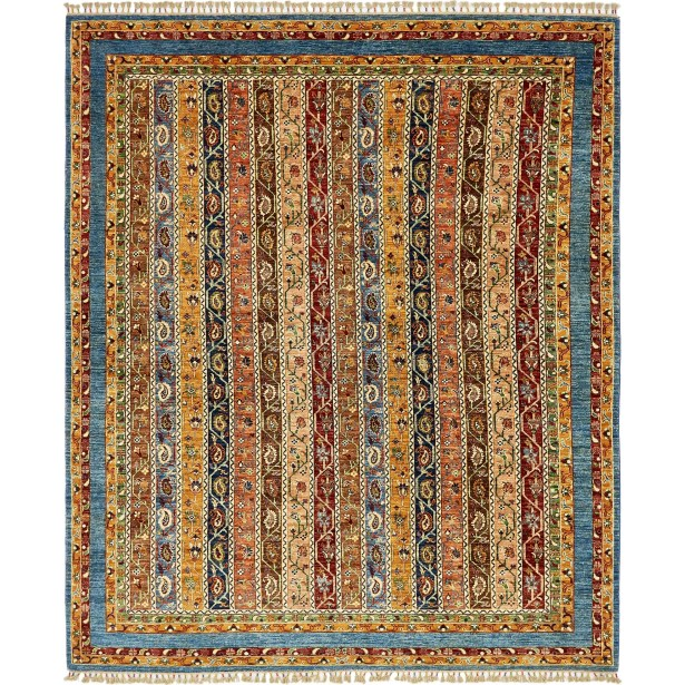 One-of-a-Kind Denver Hand-Knotted Wool Brown/Beige Area Rug