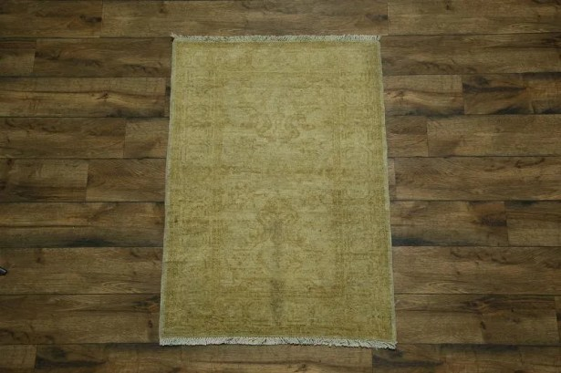 One-of-a-Kind Bovill Peshawar Oriental Hand-Knotted Wool Brown Area Rug