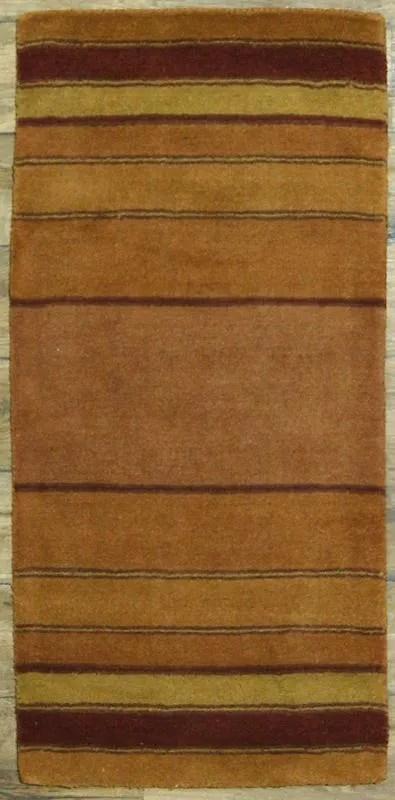 Seidman Oriental Hand-Tufted Wool Yellow/Gold Area Rug