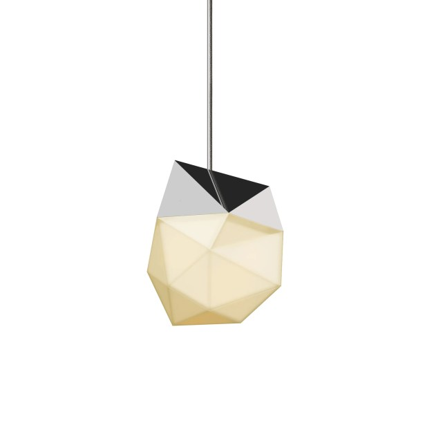 1-Light  LED Novelty Pendant Finish: Polished Chrome