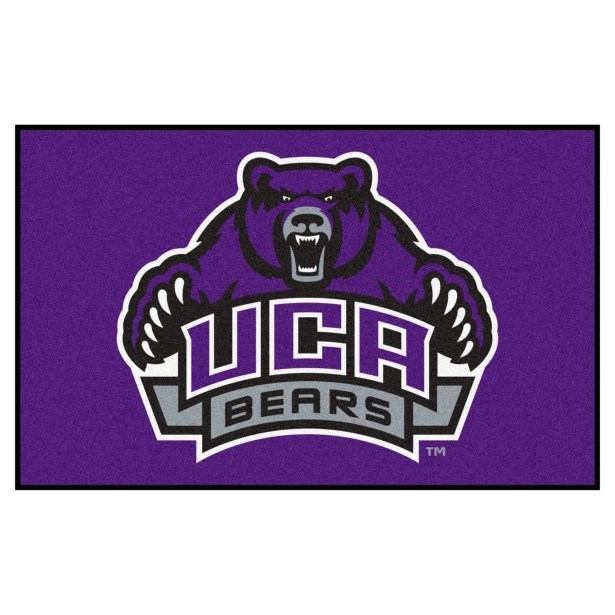 University of Central Arkansas Doormat Color: Purple, Mat Size: Rectangle 5' x 8'