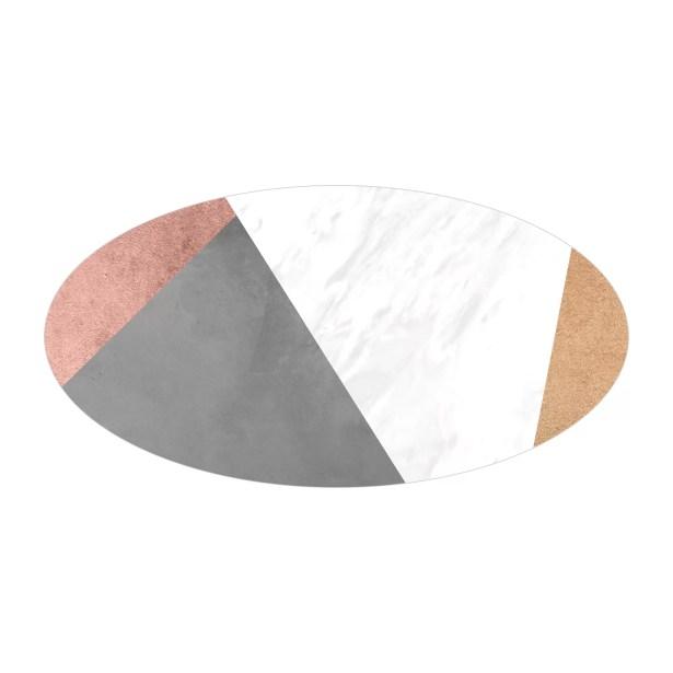 Andrea Bertram End Table Table Base Color: Chrome, Table Top Color: Walnut